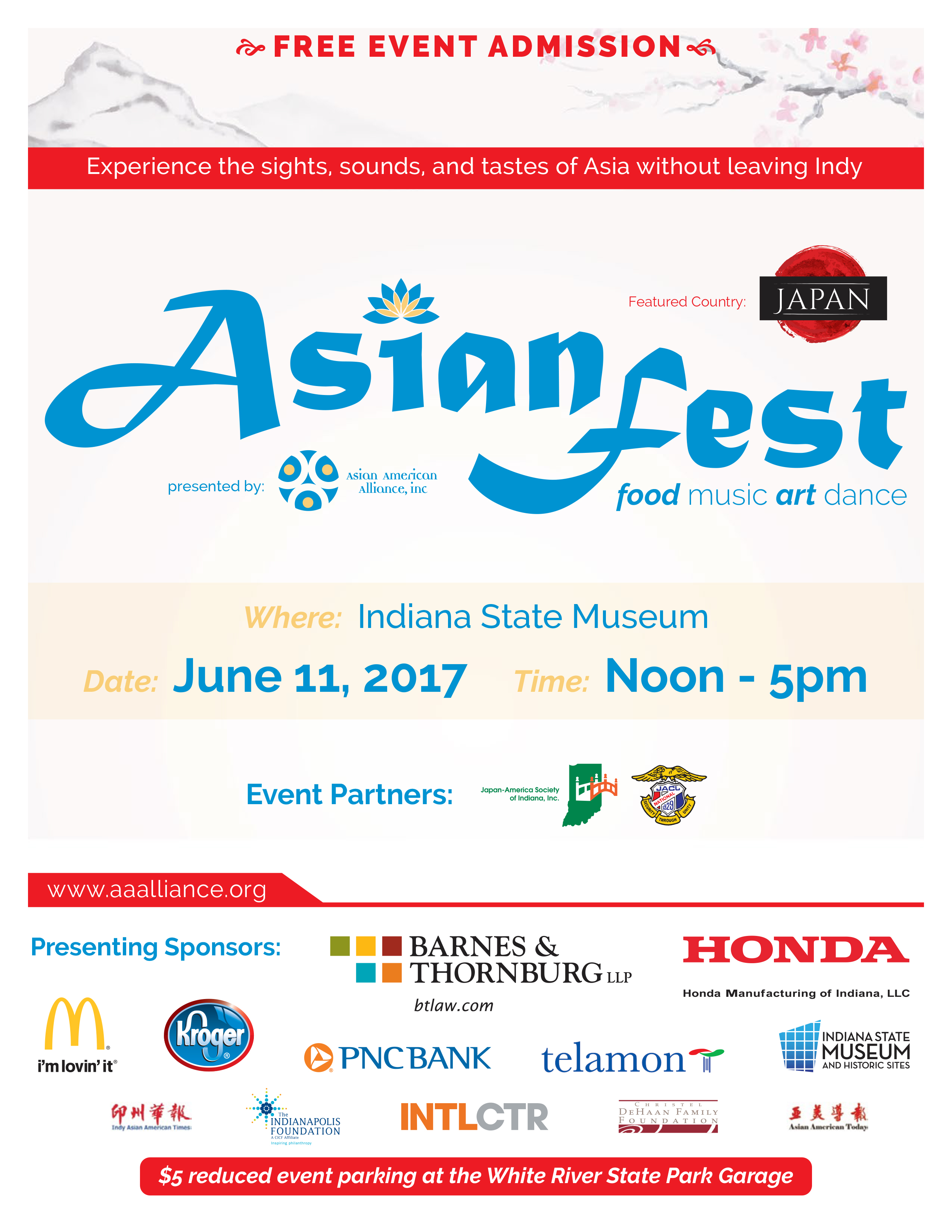 10th Annual Asian Fest in Indianapolis, June 11, 2017 | Around Indy