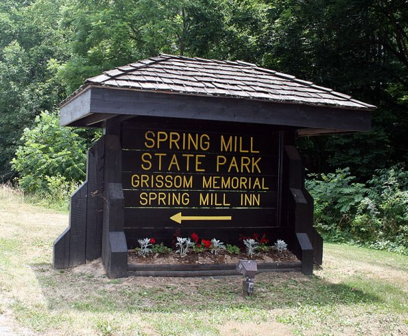 spring-mill-state-park-sign